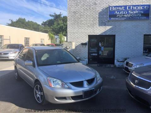 2005 Mitsubishi Lancer for sale in Virginia Beach, VA