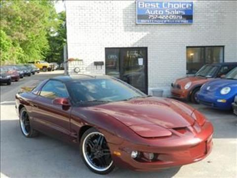 2000 Pontiac Firebird for sale in Virginia Beach, VA