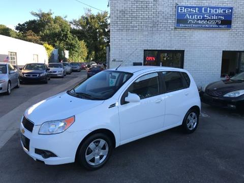 2011 Chevrolet Aveo for sale in Virginia Beach, VA