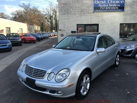Mercedes benz e class for sale in virginia beach va for Mercedes benz va beach