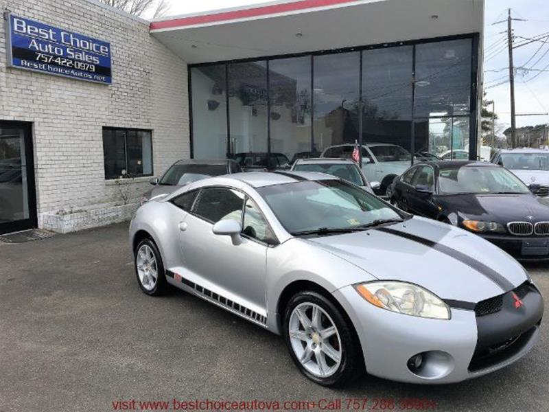 2008 Mitsubishi Eclipse GT In Virginia Beach VA - Best Choice Auto Sales