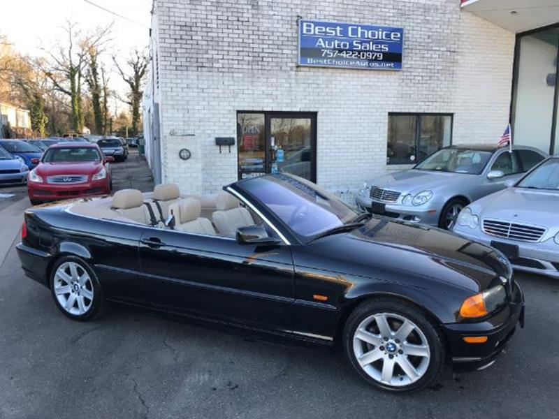 BMW Series Ci In Virginia Beach VA Best Choice Auto Sales - 2001 bmw convertible
