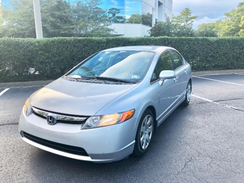 2006 Honda Civic For Sale At Best Choice Auto Sales In Virginia Beach VA
