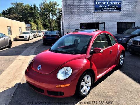 2007 Volkswagen New Beetle for sale in Virginia Beach, VA