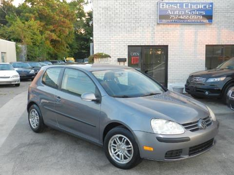 2007 Volkswagen Rabbit for sale in Virginia Beach, VA