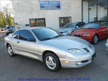2005 Pontiac Sunfire for sale in Virginia Beach, VA