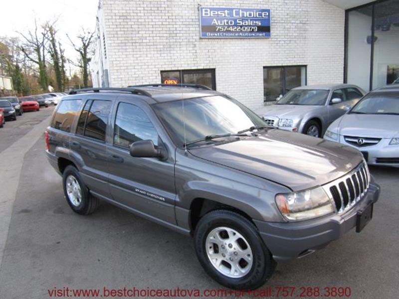 2002 Jeep Grand Cherokee Laredo In Virginia Beach VA  Best Choice