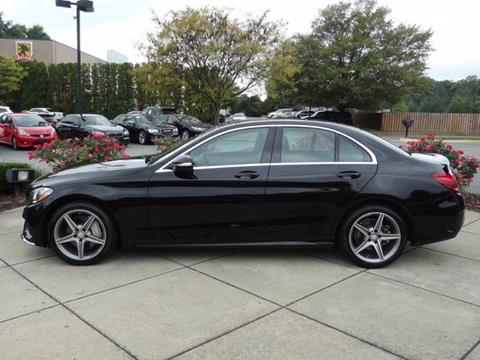 Used 2015 mercedes benz c class for sale in virginia for Mercedes benz midlothian va