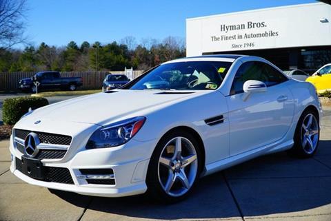 2015 Mercedes Benz SLK For Sale In Midlothian, VA
