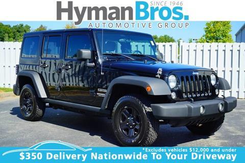 2015 Jeep Wrangler Unlimited for sale in Midlothian, VA