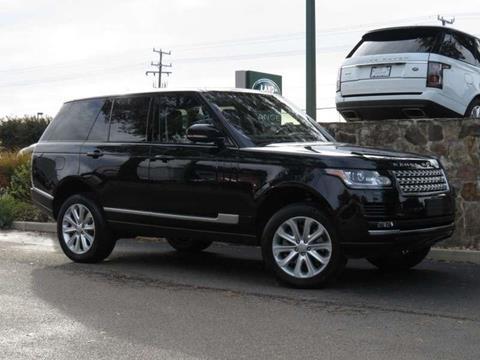 2016 Land Rover Range Rover for sale in Midlothian, VA