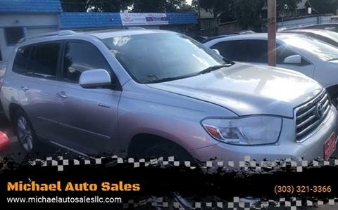2008 Toyota Highlander for sale in Denver, CO