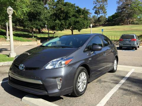 2013 Toyota Prius Plug-in Hybrid for sale at Best Buy Imports in Fullerton CA