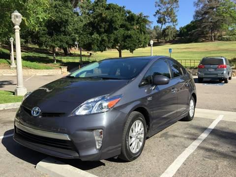 2013 Toyota Prius Plug-in Hybrid for sale in Fullerton, CA