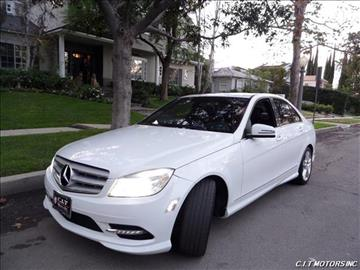 2010 Mercedes-Benz C-Class for sale in Sherman Oaks, CA