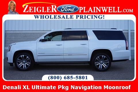 2018 GMC Yukon XL for sale in Lowell, MI