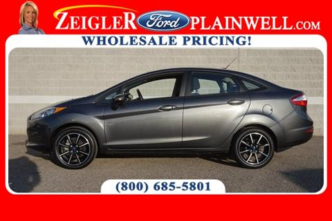 2016 Ford Fiesta SE for sale at Zeigler Ford of Lowell in Lowell MI