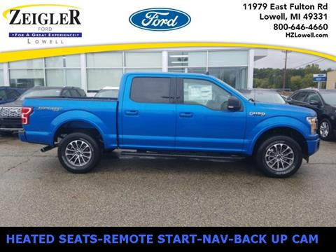 2019 Ford F-150 XLT for sale at Zeigler Ford of Lowell in Lowell MI