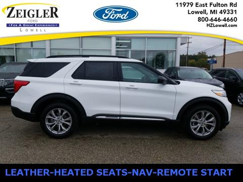 2020 Ford Explorer XLT for sale at Zeigler Ford of Lowell in Lowell MI