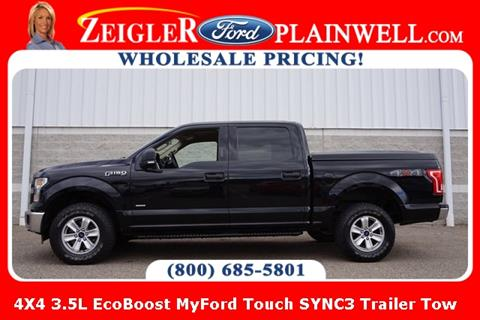 2016 Ford F-150 for sale at Zeigler Ford of Lowell in Lowell MI