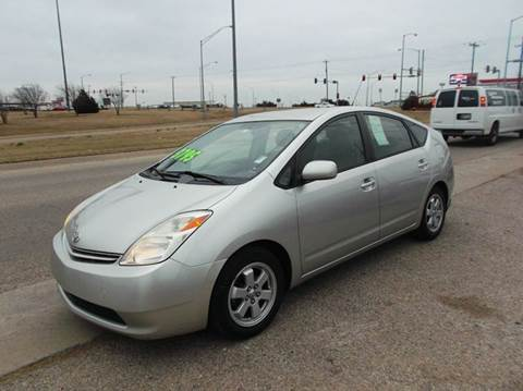 2004 Toyota Prius for sale at BUZZZ MOTORS in Moore OK