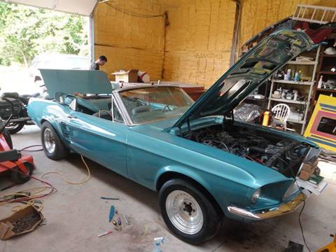 1967 Ford Mustang for sale at BUZZZ MOTORS in Moore OK