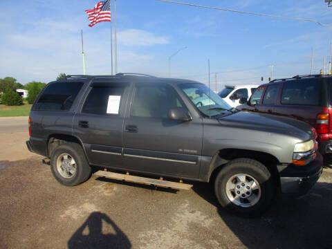 2001 Chevrolet Tahoe LS for sale at BUZZZ MOTORS in Moore OK