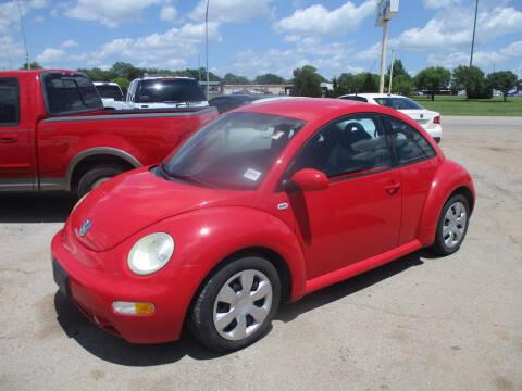 2001 Volkswagen New Beetle GLS for sale at BUZZZ MOTORS in Moore OK