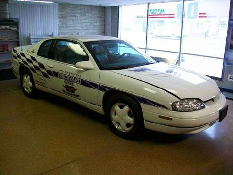 1995 Chevrolet Monte Carlo for sale at DJ Motor Company in Wisner NE
