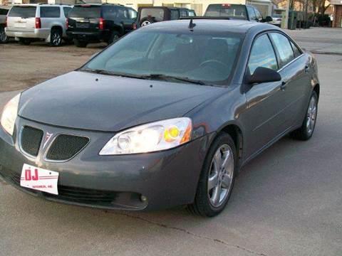 2008 Pontiac G6 for sale at DJ Motor Company in Wisner NE
