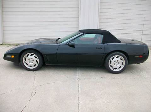 1995 Chevrolet Corvette for sale at DJ Motor Company in Wisner NE