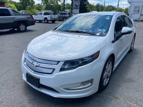 2013 Chevrolet Volt for sale at 1A Auto Sales in Walpole MA