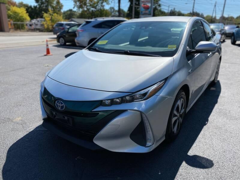 2017 Toyota Prius Prime for sale at 1A Auto Sales in Walpole MA
