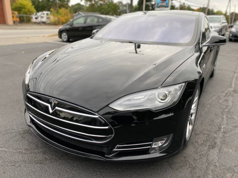 2013 Tesla Model S for sale at 1A Auto Sales in Walpole MA