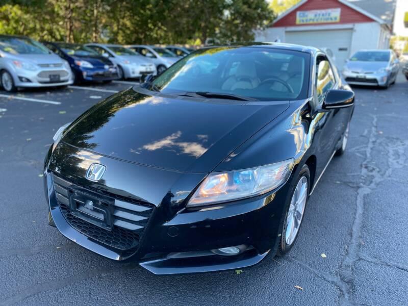 2012 Honda CR-Z for sale at 1A Auto Sales in Walpole MA