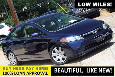 2007 Honda Civic for sale at GTI Auto Exchange in Durham NC
