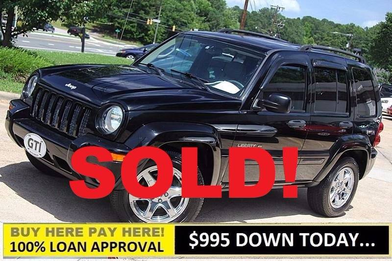 2003 Jeep Liberty For Sale At GTI Auto Exchange In Durham NC