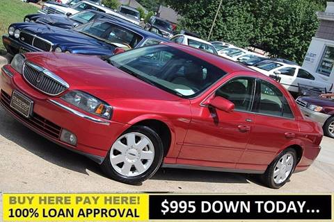 2004 Lincoln LS for sale at GTI Auto Exchange in Durham NC