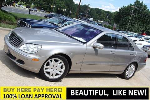 2006 Mercedes-Benz S-Class for sale at GTI Auto Exchange in Durham NC