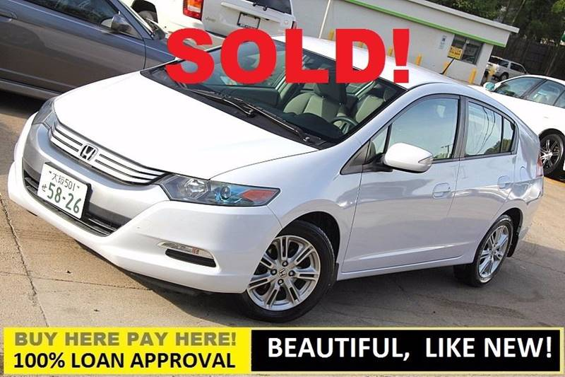 2010 Honda Insight For Sale At GTI Auto Exchange In Durham NC