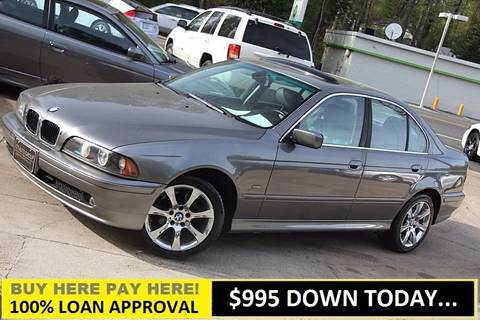 2003 BMW 5 Series for sale at GTI Auto Exchange in Durham NC