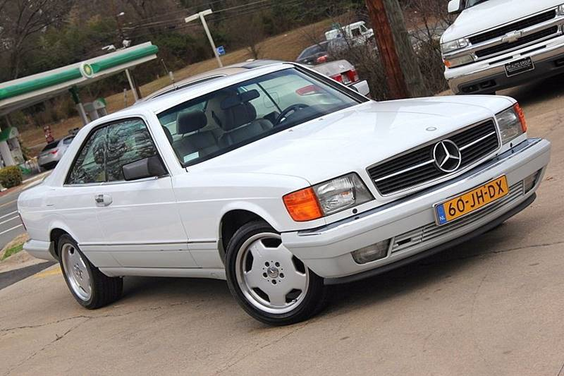 1991 mercedes benz 560 class 560 sec in durham nc gti auto exchange. Black Bedroom Furniture Sets. Home Design Ideas