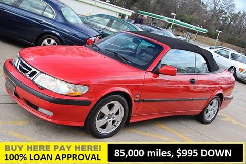 2002 Saab 9-3 for sale at GTI Auto Exchange in Durham NC