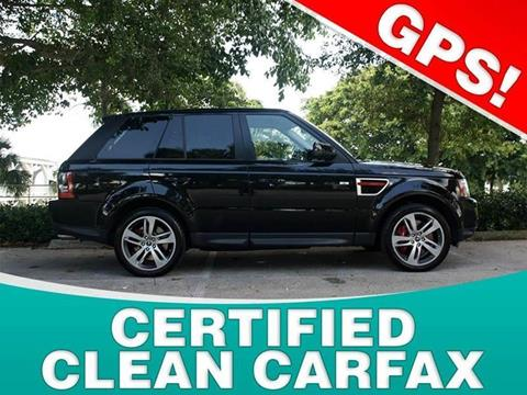 2013 Land Rover Range Rover Sport for sale in North Palm Beach, FL