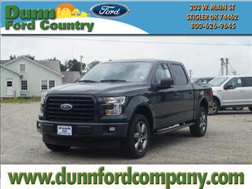 2017 Ford F-150 for sale in Stigler, OK