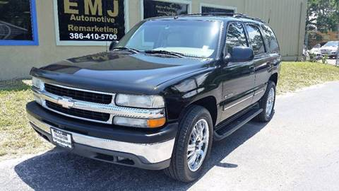 2001 Chevrolet Tahoe for sale at EMJ Automotive Remarketing in New Smyrna Beach FL