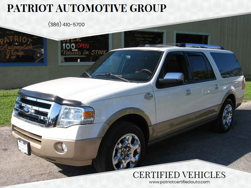 Ford Expedition El For Sale At Patriot Automotive Group In New Smyrna Beach Fl