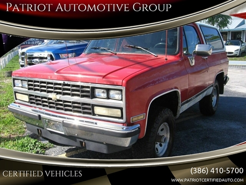 New Smyrna Chevrolet >> Chevrolet Blazer For Sale In New Smyrna Beach Fl Patriot