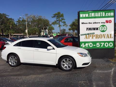 2013 Chrysler 200 for sale at EMJ Automotive Remarketing in New Smyrna Beach FL