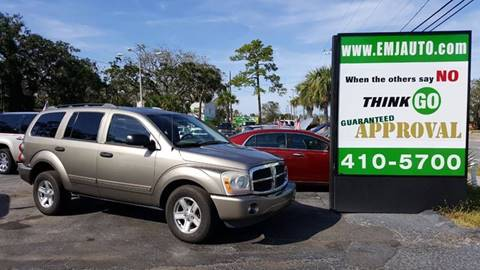2005 Dodge Durango for sale at EMJ Automotive Remarketing in New Smyrna Beach FL